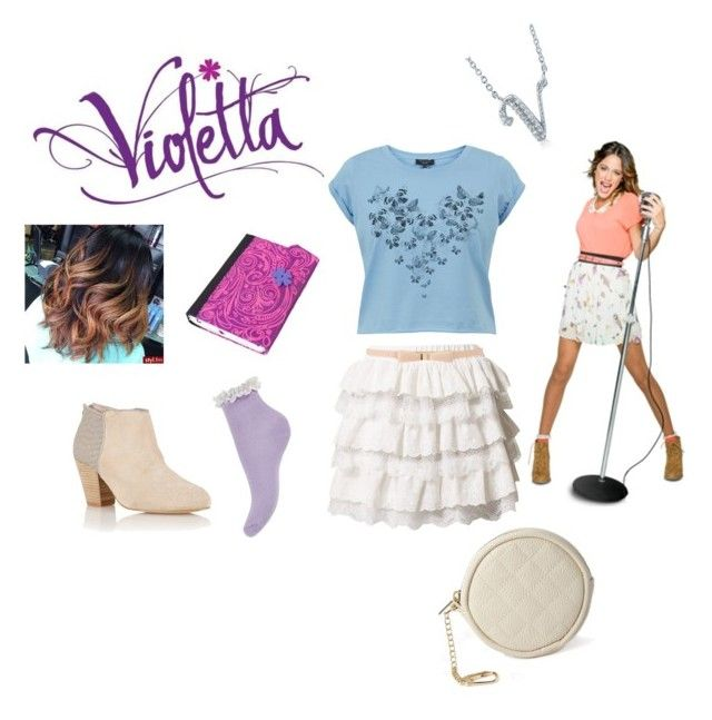 Violetta Style By Idapolyvore Liked On Polyvore Featuring Angry Birds Molly Bracken Forever