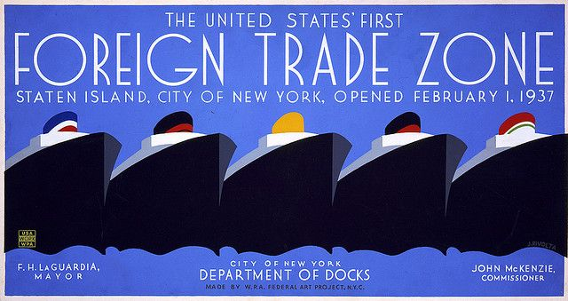 First foreign trade zone - 1937