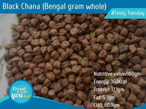 Legumes & Beans are rich source of protein in our diets. In a vegetarian diet or a diet containing low amounts of animal foods, they are an important source of protein. This whole month we shall discuss nutritive values of different legumes and shall share amazing recipes made out of them. Lets begin!!  Black Chana(Bengal gram whole)  #DrAtulPeters #TeamBariatric #TastyTuesday #Pulses #Legumes