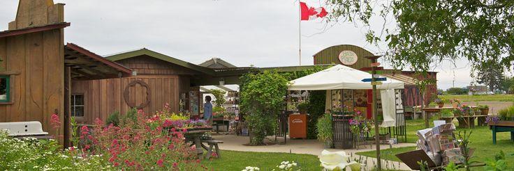 Westham Island Herb Farm Ladner, BC