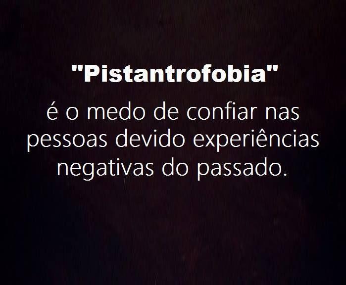 Pistantrofobia