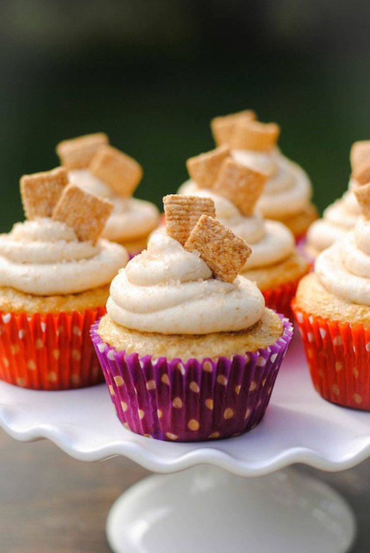 Cinnamon toast crunch cupcakes cupcake recipes cinnamon