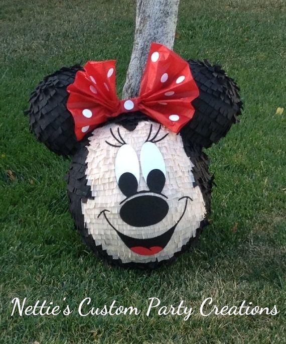 Pinatas pinatas  pinatas  Mickey Mouse or Minnie by Nettiescorner, $70.00