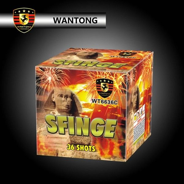 1.2 inch 36 shots wholesale cake fireworks