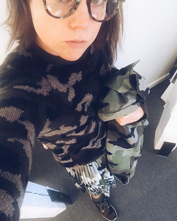 """110 gilla-markeringar, 12 kommentarer - Eleonore Nygårds (@nygards) på Instagram: """"Är det inne med camo?"""""""