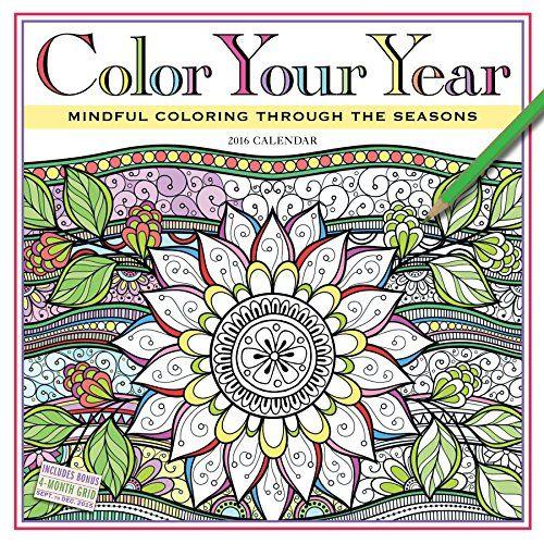 calendar diaries calendar adult coloring calendar 2017 2016 calendar ...