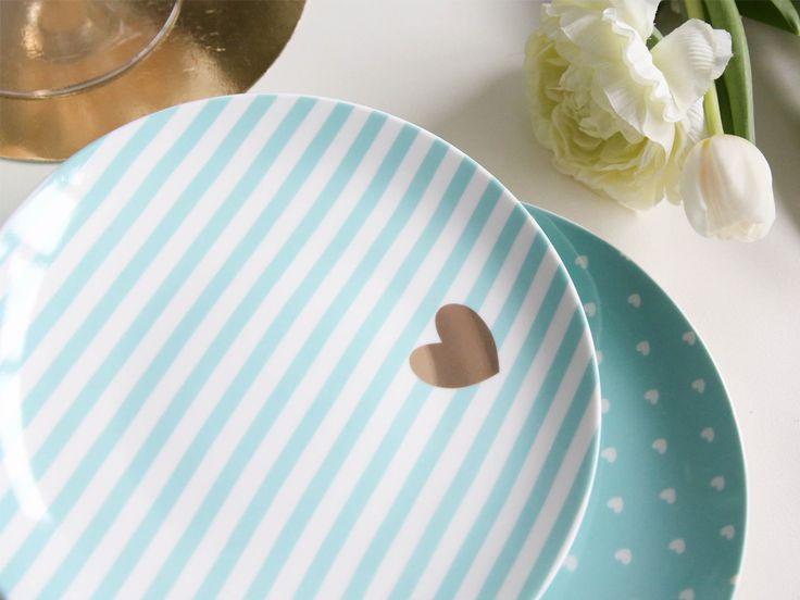 Talerz deserowy porcelana Tiffany