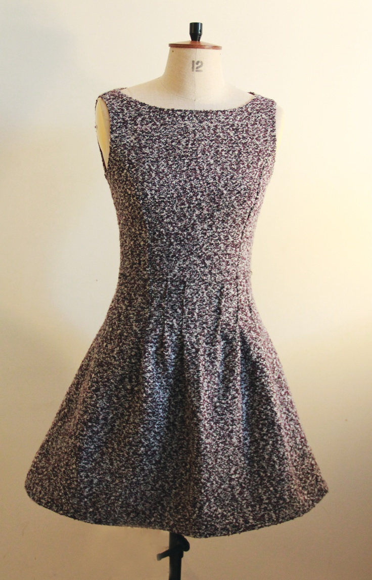 Lovely dress from our garment construction programme