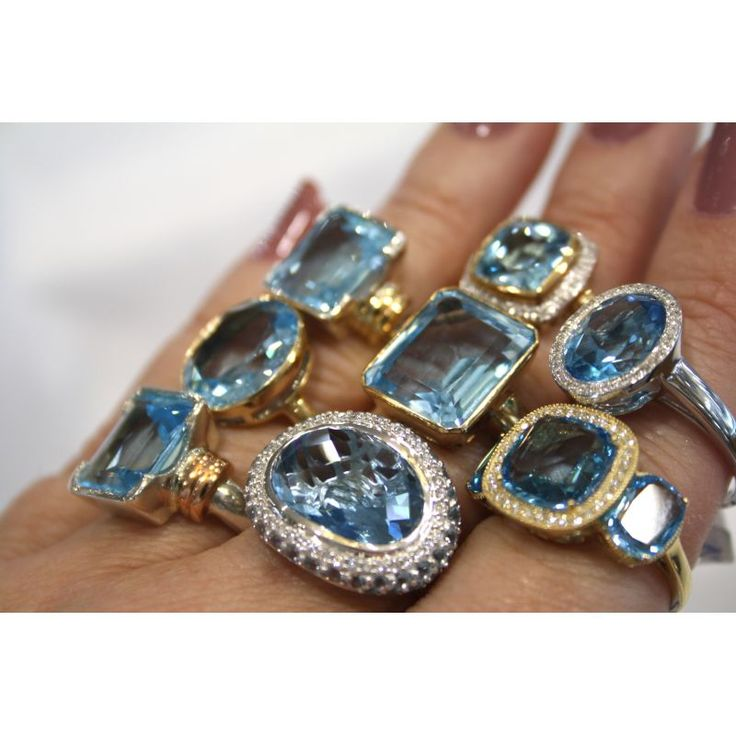 Collection of Topaz Rings