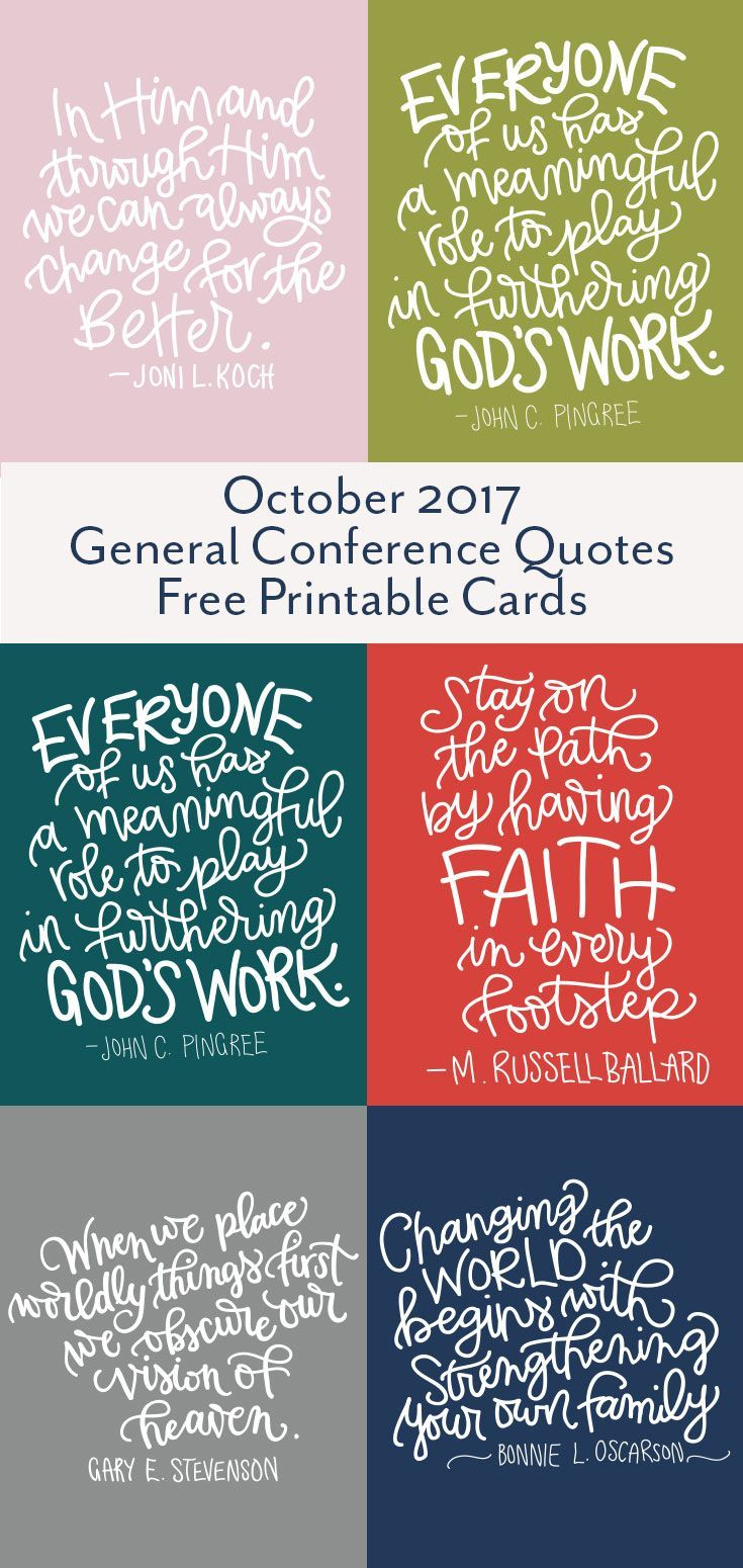 Free iPhone Wallpaper and Printable LDS general Conference quotes from Oct 2017 conference. #ldsconf #printablequotes #generalConference2017 #Oct2017Conference
