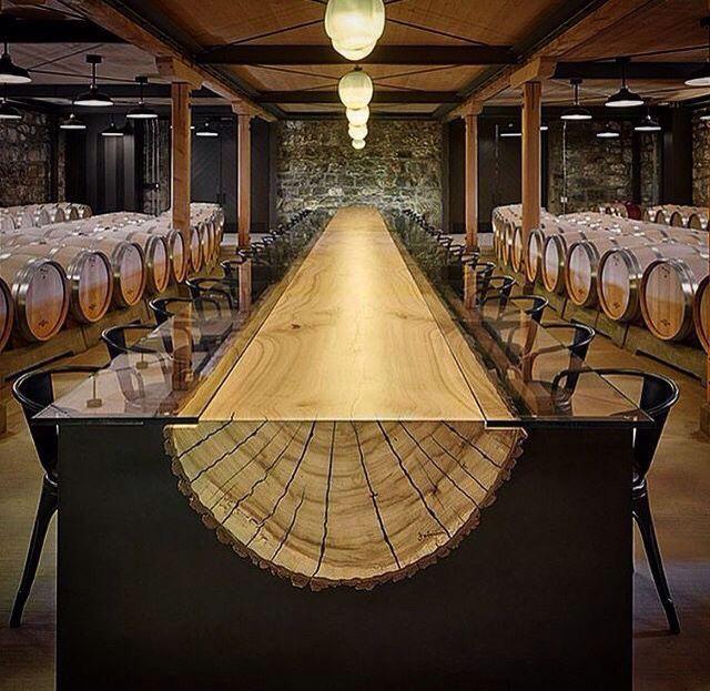 Live Edge Rare Single Acacia Wood Slab Dining Table Conference