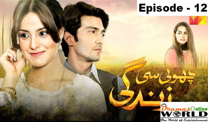 Choti si Zindagi Episode 12 dated 27 December 2016 : Watch Hum TV Drama Online http://dramasonlineworld.com/choti-si-zindagi-episode-12-hum-tv-drama-online/