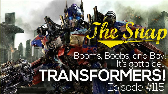 Booms, Bots, and Bay! Why Not?! | The Snap -- Episode #115