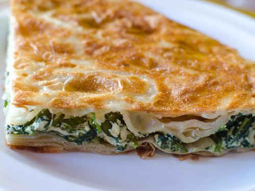 Burek or Borek, sooooo good. Had this in Istanbul years ago and have been looking for the recipe everywhere!