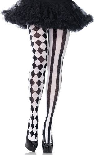 The Joy of Socks - Harlequin Vertical Striped Tights, $7.00 (http://www.joyofsocks.com/harlequin-vertical-striped-tights/)
