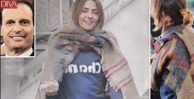 """Il-Trafiletto: Arriva la """"cicogna"""" per Ambra Angiolini: pancino s..."""