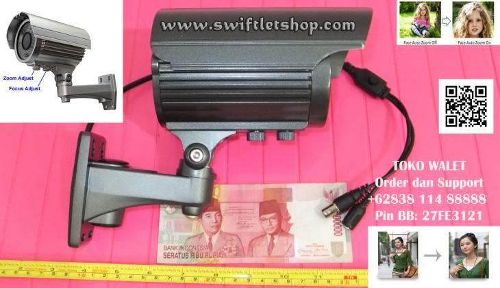Camera CCTV SSC-MC3-7F, Chip Sony Effio 700TVL, IR 50m, Varifocal Lens 2.8-12mm, Auto Face Detection