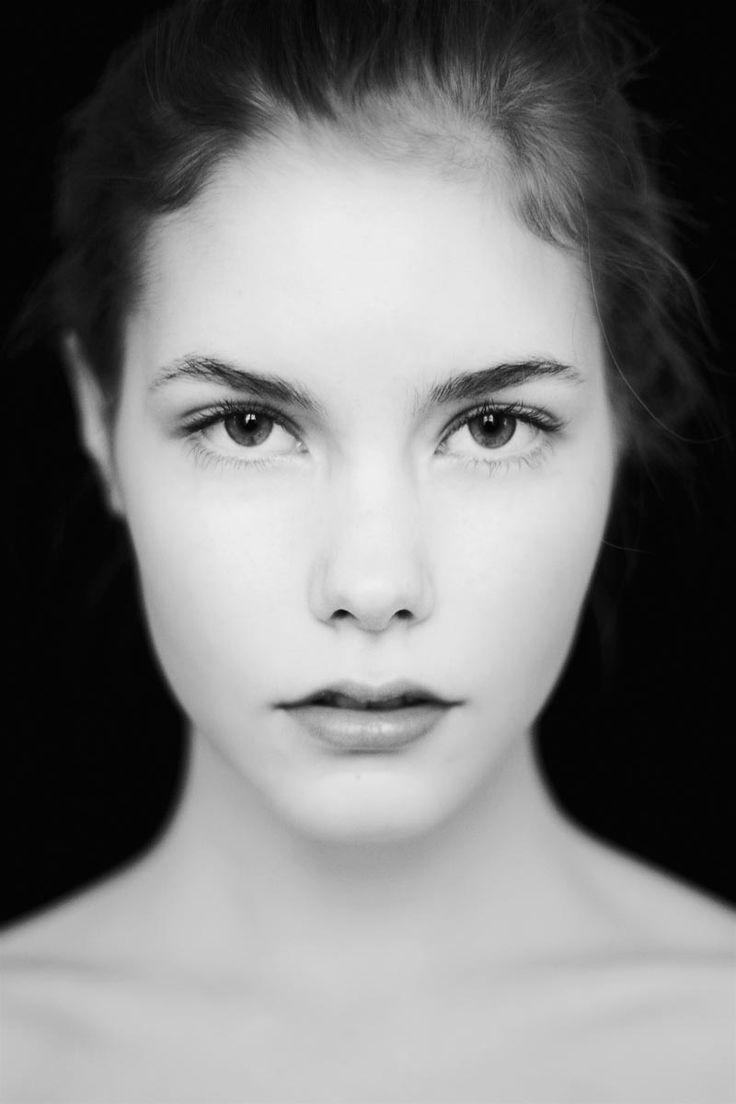 Fresh Face | Portrait shots, Black, white portraits, Face