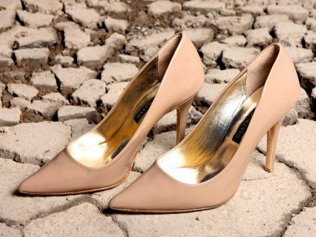 Patent Leather Pumps. In nude color. Available in many other colors and materials after demand.