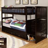 Found it at Wayfair - Twin over Twin Staircase Bunk Bed
