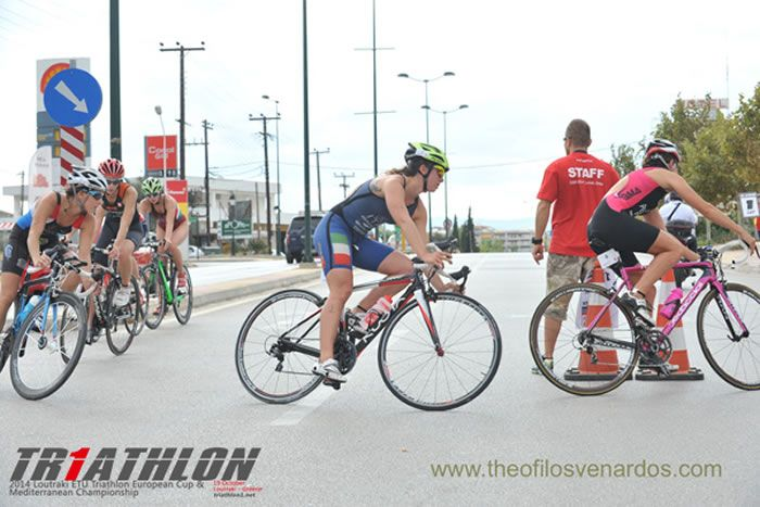 Elite women on action! #cycling