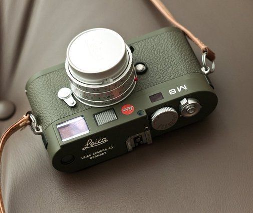 Leica M8.2 Safari Edition. Want it? Own it? Add it to your profile on unioncy.com #tech #gadgets #electronics