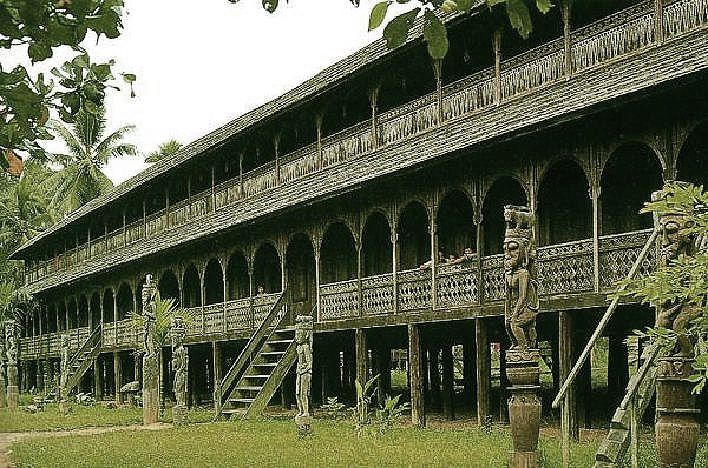West Kalimantan– Betang Traditional house