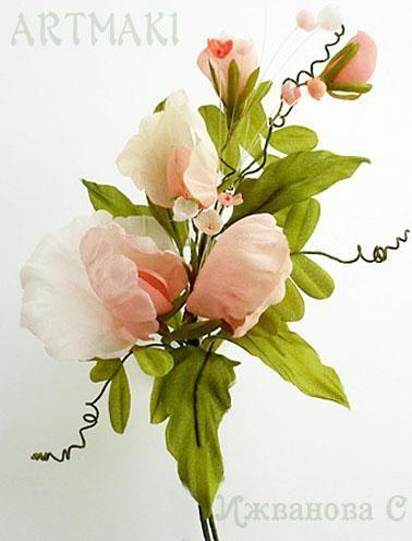 Анонс мини-курса по шелковым цветам в августе - Ярмарка Мастеров - ручная работа, handmade