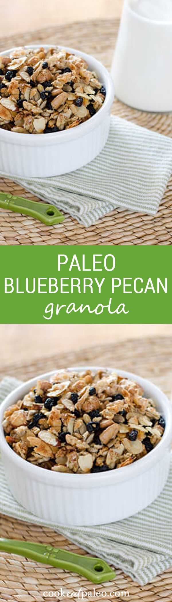 Blueberry Pecan Paleo Granola | Recipe | Lost, Almonds and ...