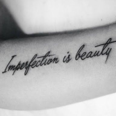 perfectly imperfect tattoo - Google Search