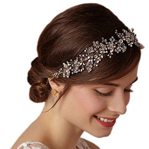 HITOP Retro Griechisch elegant Damen Süß Luxus Kristall Blumen Riemen Strass Prinzessin Headwrap Stirnband Haarreif Haarband Haarschmuck Stirnschmuck Hochzeit (gold) HITOP http://www.amazon.de/dp/B00MYVW8J4/ref=cm_sw_r_pi_dp_sNIbxb1K68S1Q                                                                                                                                                                                 Mehr