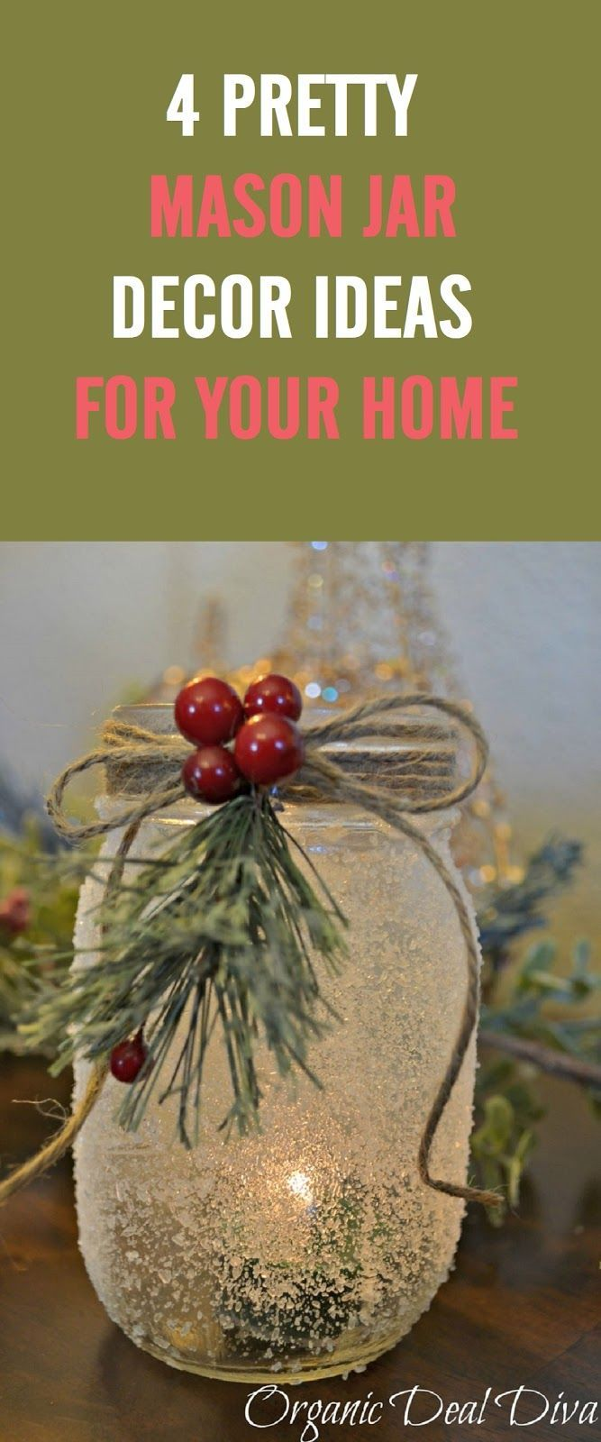 Masonjar Homedecor Christmasdecorationsdiy Mason Jar Decorations Christmas Mason Jars Christmas Jars