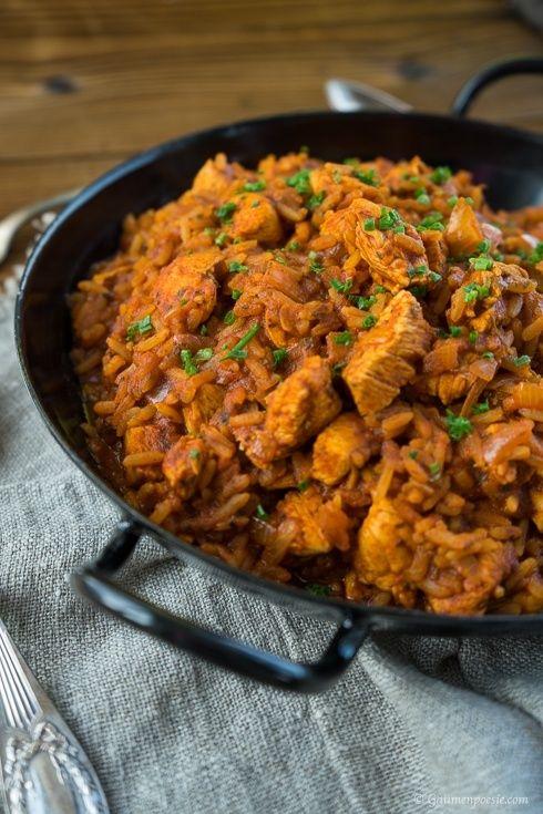 Puten-Reisfleisch - Ein schnabulöses Reis Gericht, nach Omas Rezept. Sehr gschmackig und noch dazu One Pot!