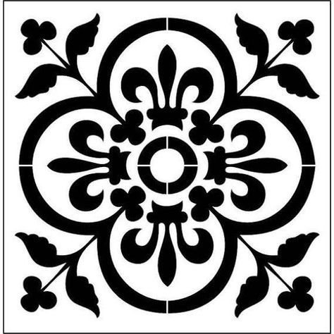 wall stencil designs moroccan