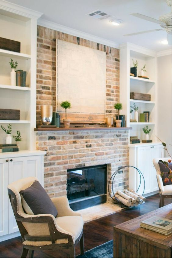 94 Best Images About For The Home Built In Fireplace On