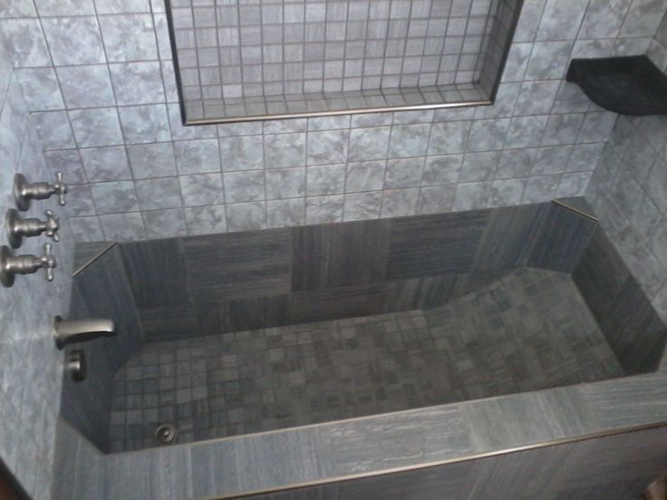 tile tub | check this out this is a roman style tub in a virginia beach clients ...