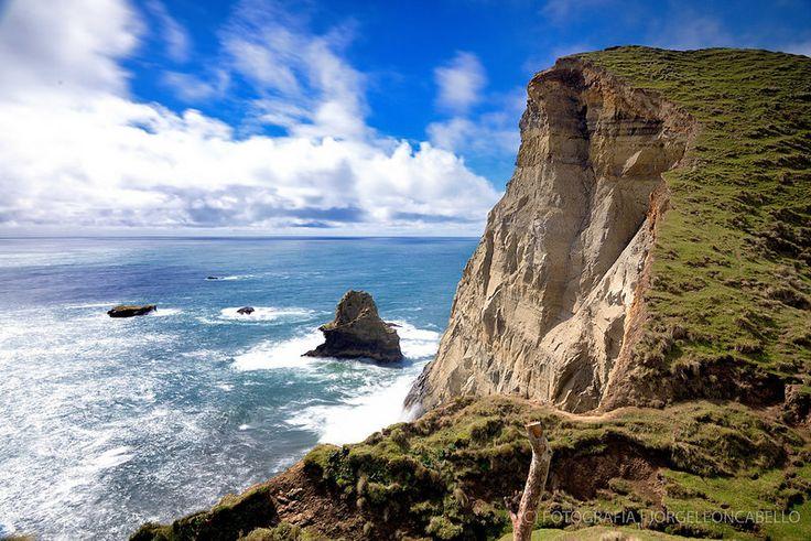 Acantilados - Punta Pirulil (Isla de Chiloe)