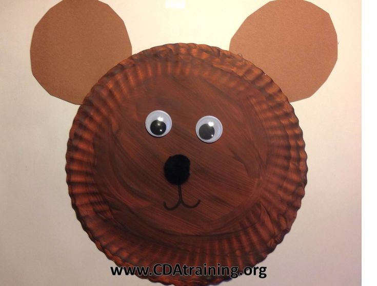 Paper Plate Teddy Bear & 463 best Preschool Projects images on Pinterest | Day care Crafts ...
