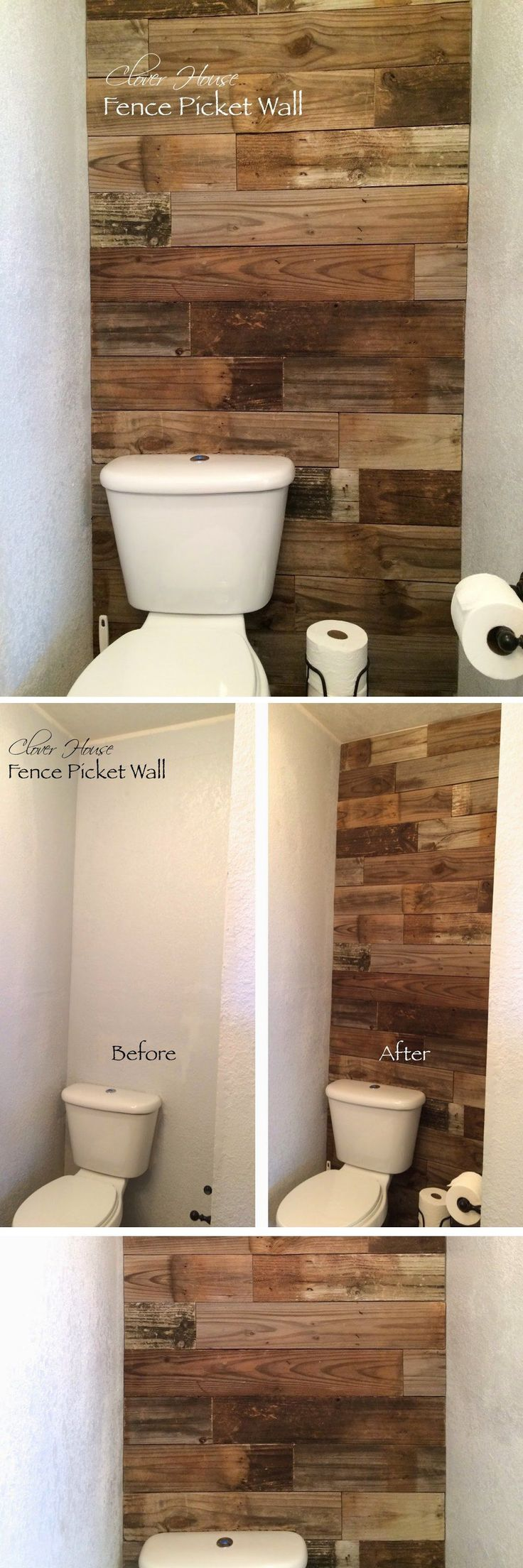 Bathroom Fence Picket Wall