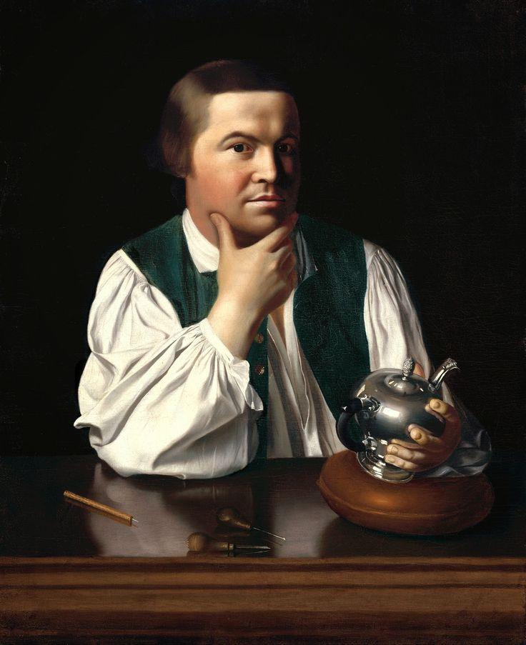 John Singleton Copley - Paul Revere [1768] | Arash Noorazar Virtual Art Gallery  #18th #Classic #John #Singleton #Copley #Painting #Portrait