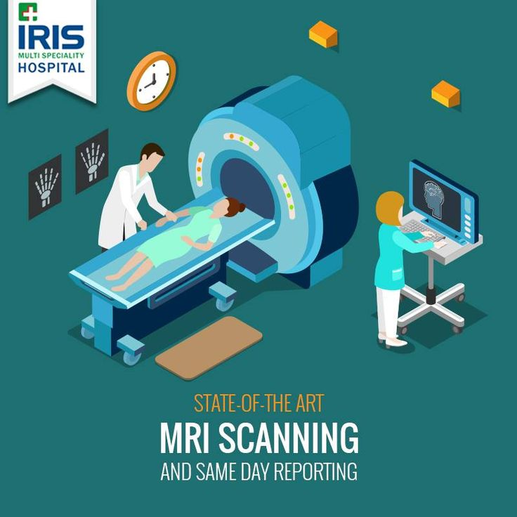 Fast and clear MRI scanning with reports on the same day, only at IRIS Hospital.