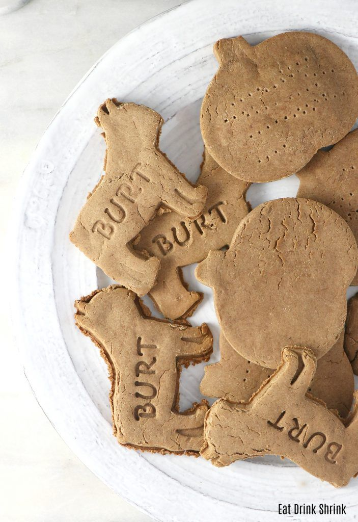 Vegan Dog Biscuit Recipe | Eat. Drink. Shrink.