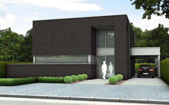 Moderne stijl carport huizen inspiratie pinterest garage tes and modern - Stijl eengezinswoning ...