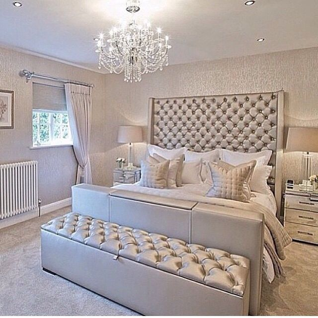 Silver Tones Is Considered As A Color Of Luxury In Interior Design With A Feeling Of Comfortable And Relax These 15 Silver Bedroom Designs In This Article