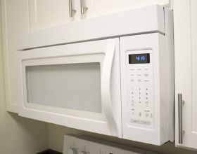 standard over the range microwave dimensions - Google Search