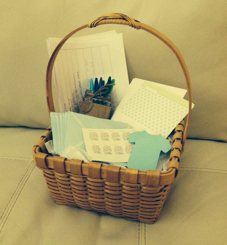 Thank You For Your Business Basket: My Sister Gave Me The BEST Baby Shower Gift! Perfect For A