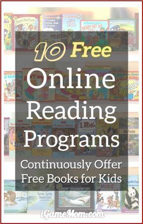 Free online reading programs that continuously offer free books to kids - daily, weekly or monthly. Some also have audio option for young children to listen to. All are available on mobile devices like iPad iPhone, many are also available on computers. A wonderful resource for children literacy.
