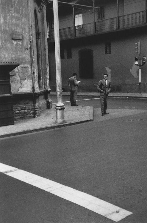 Santiago Chile 1963 Photo: Sergio Larrain