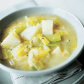 America S Test Kitchen Rustic Potato Leek Soup