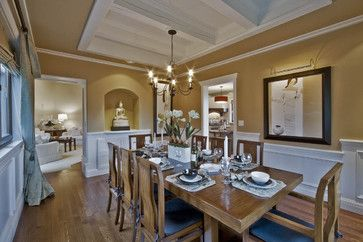 Whistler - traditional - Dining Room - Vancouver - Debbie Evans Interior Design